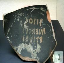 Falisques Céramique Ostraca Rome SCV
