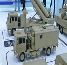 Missile Sol Air Système Sky Dragon 50 Fire Distribution Vehicle  Maquette Eurosatory 2016