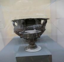 Etrurie Céramique Calice Bucchero Florence MAF