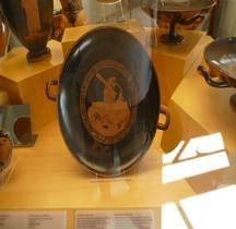 Etrurie Céramique Kylix Hercule vers Erythia  SCV