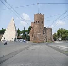 Rome Mura del URBS Rome Mura Aureliane Rione Testaccio Porta San Paolo