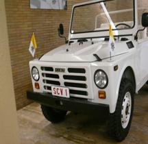 FIAT Nuova Campagnola AR 76 Papamobile Vatican