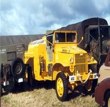 GMC CCKW  353 Airfield Fuel Tank Cabine Torpédo