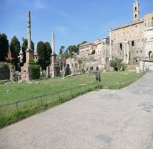 Rome Rione Campitelli Forum Romain Colonnes Honorifiques