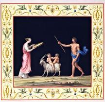 Fresque Rome Italie Rome Thermes de Titus Relevés Renaissance
