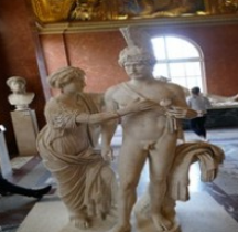 Statuaire Rome Groupe impérial en Mars et Vénus  Louvres