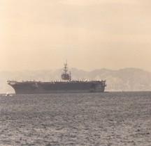 Porte avions USS Dwight D Eisenhower Marseille