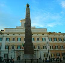 Rome Rione Campo Marzio Horologium Obélisque du Montecitorio