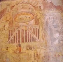 Fresque Rome Italie Rixe Amphithéatre Pompéï  Pompéï Naples