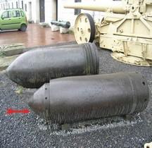 Morser 60 cm Ziu-Gerät 040  Obus Varsovie