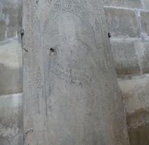 Seine St Denis St Denis Basilique.Eustache de Neuville Religieux 1407