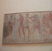 Etrurie Fresque Combattants Fac Similé Rome EUR