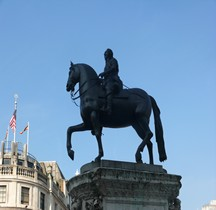 Londres Trafalgar Square Statues