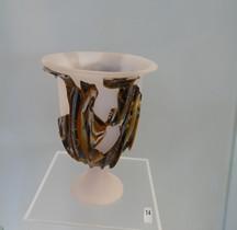 Rome Verrerie Coupe verre Mosaiqué Arles