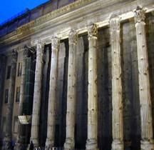 Rome Rione Campo Marzio Temple d' Hadrien