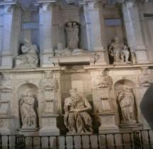 Rome Rione Monti Esquilin  Basilica San Pierro in Vincoli Mausolée de Jules II