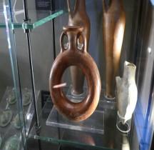 Etrurie Céramique Askos Annualaire Vernis Rouge Vatican
