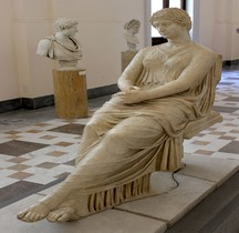 Statuaire Rome Statue Agrippina Minor Naples