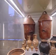 Etrurie Céramique Pyxides Grandes  Rome MNE