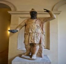 Statuaire Personnage Soldato Dacio Forum de Trajan Rome Palazzo Altemps