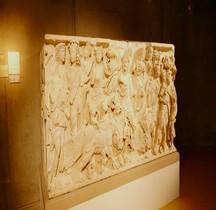 Rome Sarcophage Triomphe de Bacchus  France Lyon
