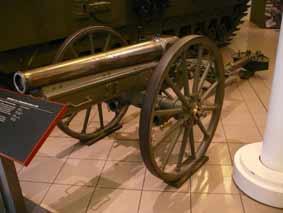 Canon 7.5 mm Geb L17-08 Rheinmetall Londres
