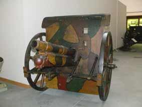 Canon 7.5cm FK 13 Rheinmetall Bruxelles