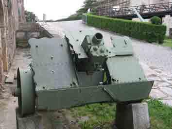 Canon 7.5cm le Ig18 Belgrade