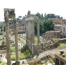 Rome Rione Campitelli Forum Romain Temple de Saturne
