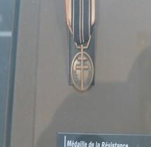 2°GM 1943 Médaille Résistance Paris Invalides