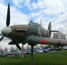 Hawker Hurricane  Mark II  Hendon 2012