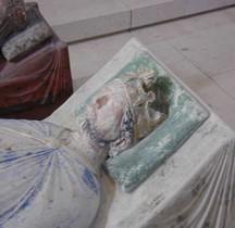 Statuaire Médiévale  Fontevraud Abbaye Gisant de Richard Coeur de Lion