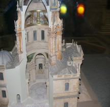 Paris Invalides Dome état Louis XIV Maquette