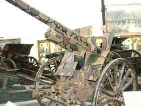 Canon Anti Aérien 7.7cm Krupp Modele 1916