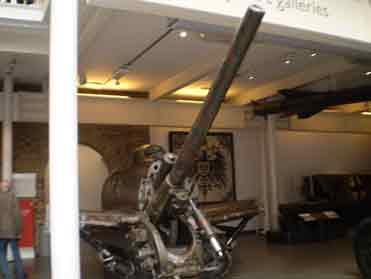 Canon anti Aérien 7.7cm Rheinmetall Mle 1916