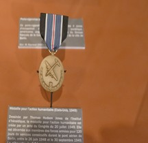 USA 1949 Medal for Humane Action Invalides