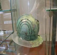 Militaria Celtes Age Fer Casque  Vatican