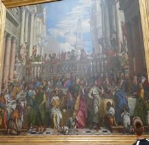Peinture Renaissance Les Noces de Cana P Véronèse Paris Louvre
