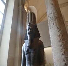 Egypte Pharaon 19e Dynastie 3 Ramses II Louvre