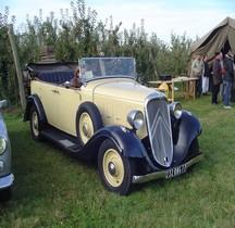 Citroën 2 CV Rosalie 8 Decapotable  1934
