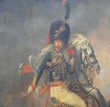 Peinture XIXe Officier des Chasseurs à Cheval de la Garde Géricault Louvre Paris