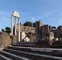 Rome Rione Campitelli Forum Romain Basilique Aemilienne