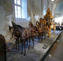 1825 Carrosse Sacre de Charles X Versailles Grandes Ecuries Musée des Carrosses