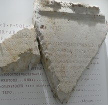 Gard Nimes Schola des Utriculaires Hommage à Dolabella