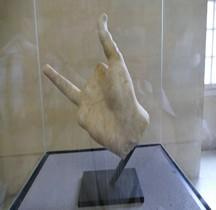 Grèce Hellenistique Victoire Samothrace Main Droite