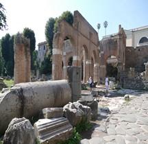 Rome Rione Campitelli Forum Romain Basilique Julia Tabernae