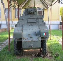 Autoblindo Fiat-Ansaldo 43 Ferroviaria Rome