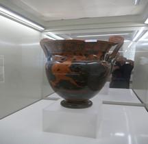 Etrurie Céramique Cratère Volutes Heracles Vs Cycnos Cava Pozzolana Rome MNE