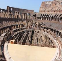 Rome rione Celio  Amphithéatre Flavien Intérieur