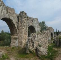 Bouches du Rhone Fontvieille Aqueduc de Barbegal